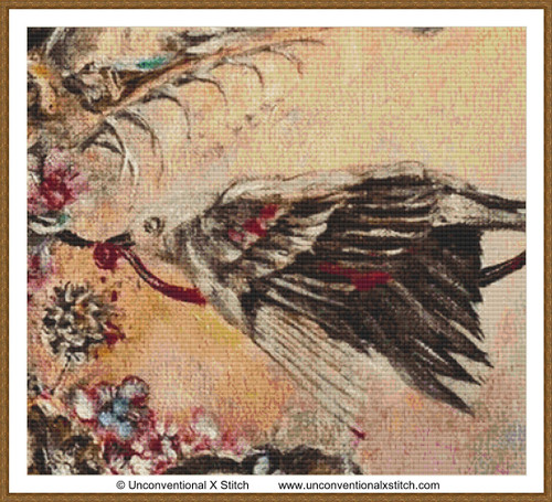 An Offering for Absolution Extract cross stitch pattern