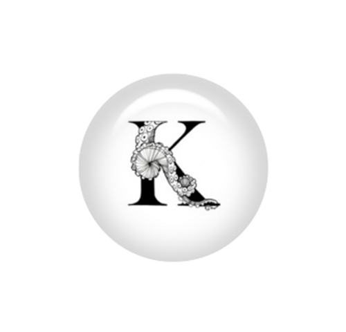 Tentacle Alphabet Letter K