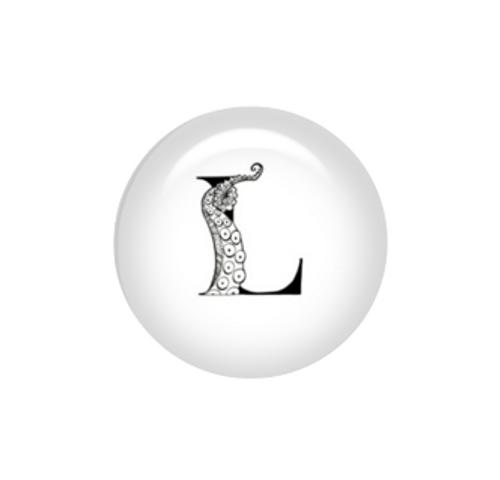 Tentacle Alphabet Letter L
