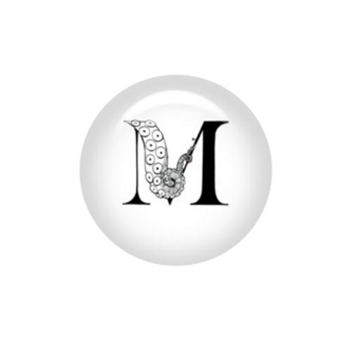 Tentacle Alphabet Letter M