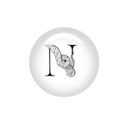 Tentacle Alphabet Letter N