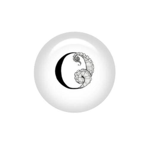 Tentacle Alphabet Letter O