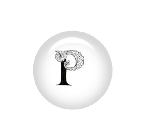 Tentacle Alphabet Letter P