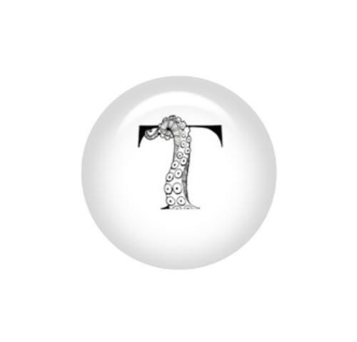 Tentacle Alphabet Letter T