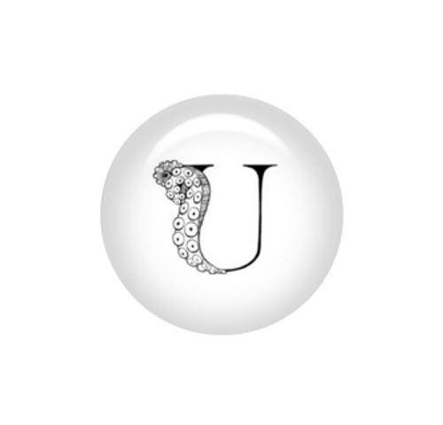 Tentacle Alphabet Letter U