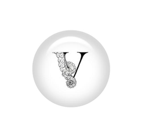 Tentacle Alphabet Letter V