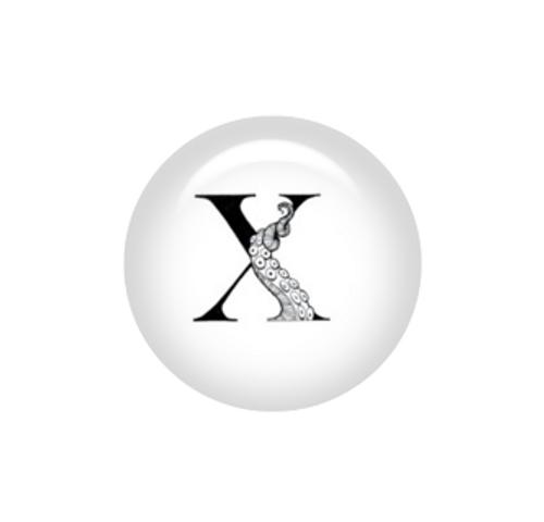 Tentacle Alphabet Letter X