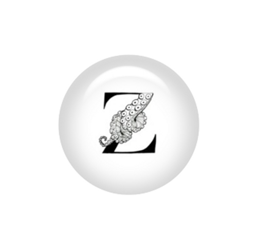 Tentacle Alphabet Letter Z - Brianna Reagan