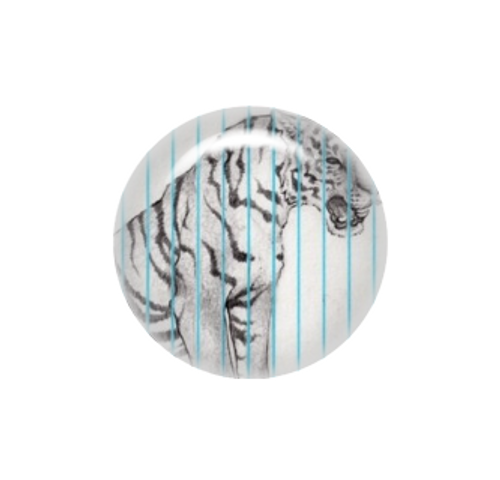 Caged Tiger needle minder - Hadley Hansen