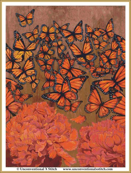 The Butterfly Effect cross stitch pattern