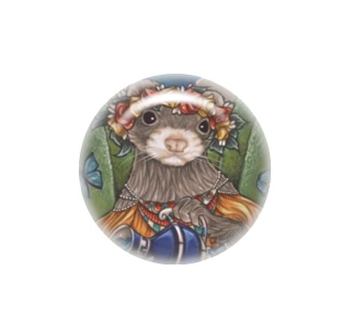 Grecian Water Bearer Ferret needle minder - Natalie Ewert