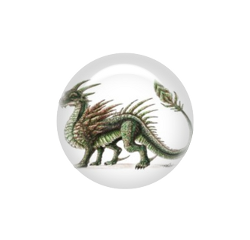 Earth dragon needle minder - Artisan