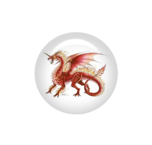 Flame dragon needle minder - Artisan