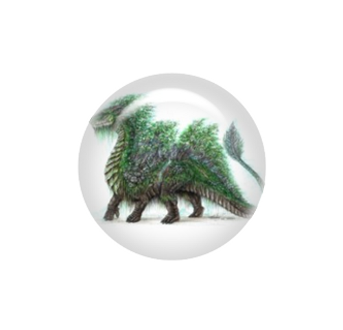 Forest dragon needle minder - Artisan