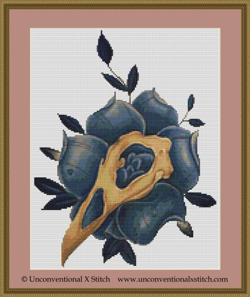Nevermore cross stitch pattern (K. Harris)