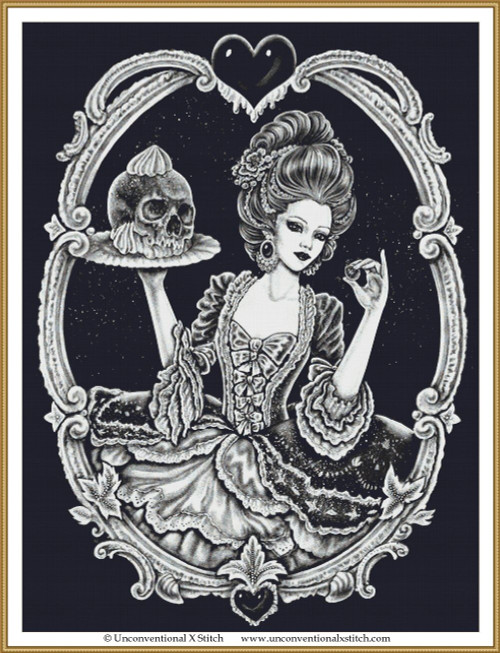 Sweet Death cross stitch pattern