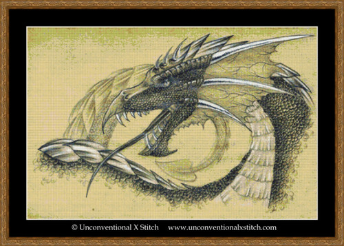 Dragon 4 cross stitch pattern