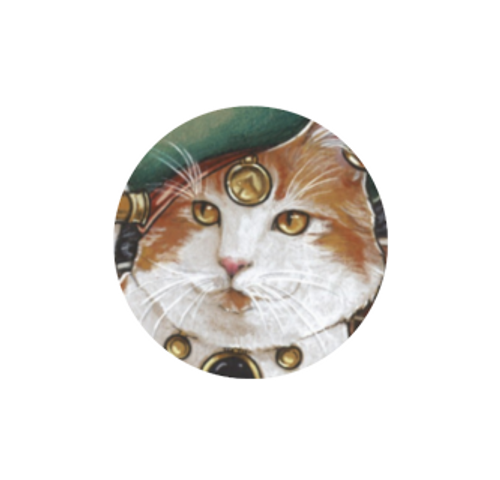 Pirate cat #3 needle minder - Natalie Ewert