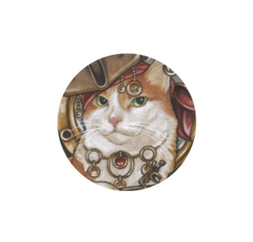 Bejeweled Cat #43 needle minder - Natalie Ewert