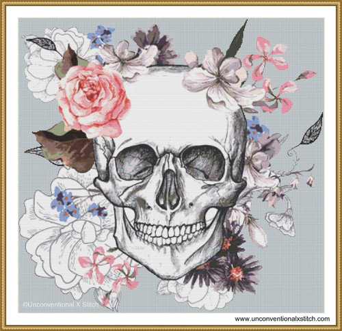 In Death cross stitch pattern
