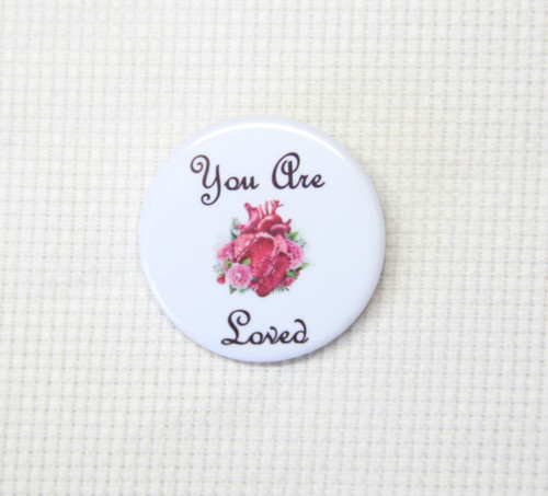 You Are Loved needle minder