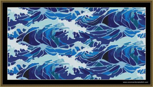 Lost at Sea cross stitch pattern