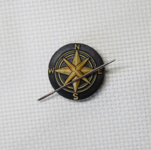 Compass needle minder vintage finish