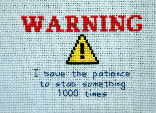 Cross stitch meme cross stitch pattern