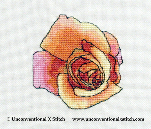 The Colours of Love cross stitch pattern