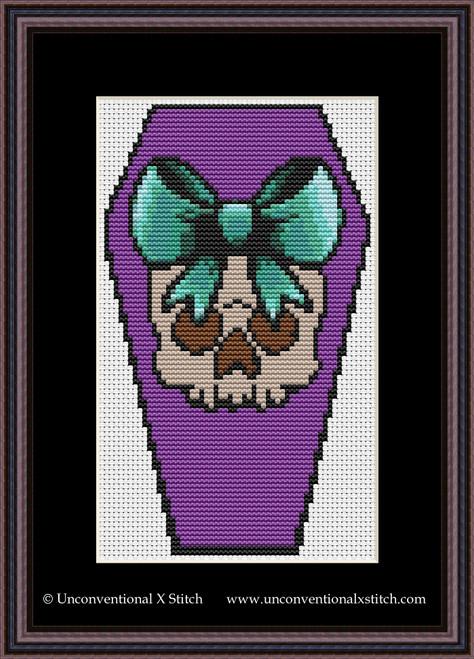 Dead Cute cross stitch pattern