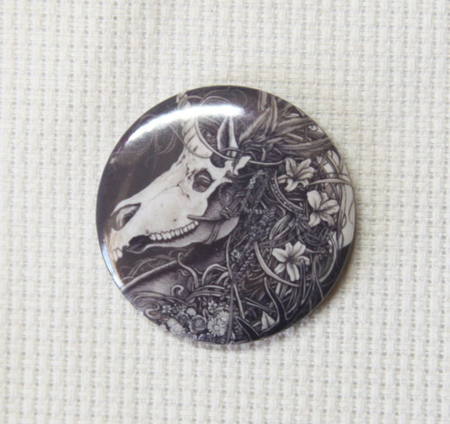 Masquerade 32mm badge style