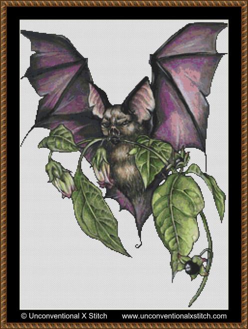 The Bat's Flight cross stitch pattern