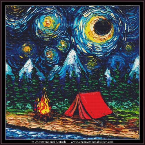 Off The Beaten Path cross stitch pattern (XL Edition)
