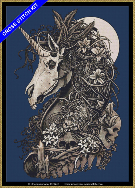 Masquerade (Background Removed) cross stitch kit