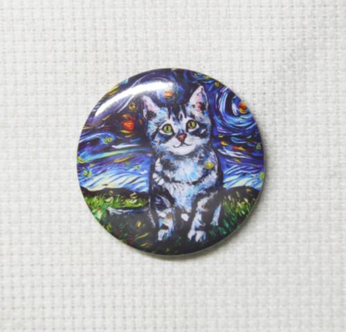 Tabby Kitten Night needle minder - Aja Trier