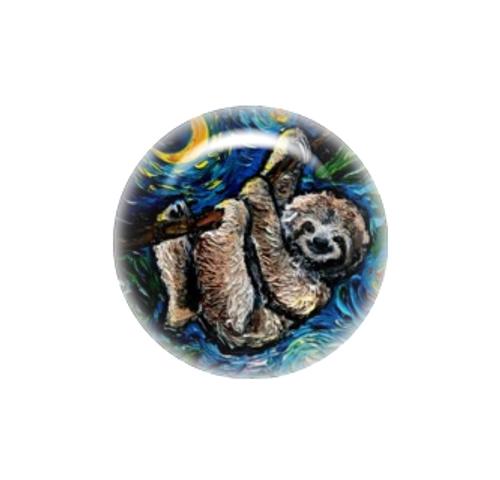 Three Toed Sloth needle minder - Aja Trier