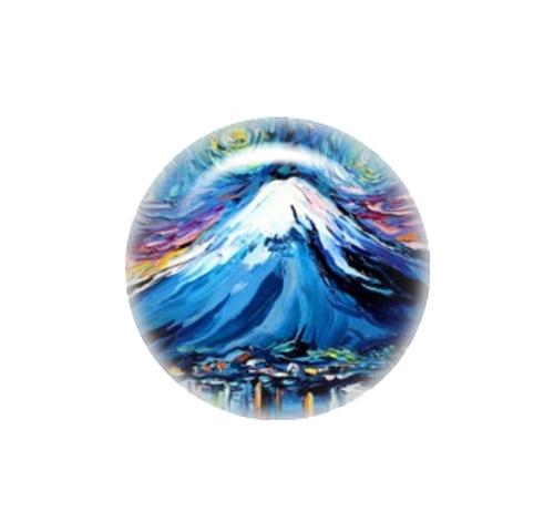 Van Gogh Never Saw Mount Fuji needle minder - Aja Trier
