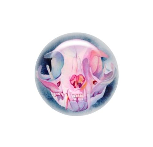 Cat Skull 1 needle minder - Emerald Barkley