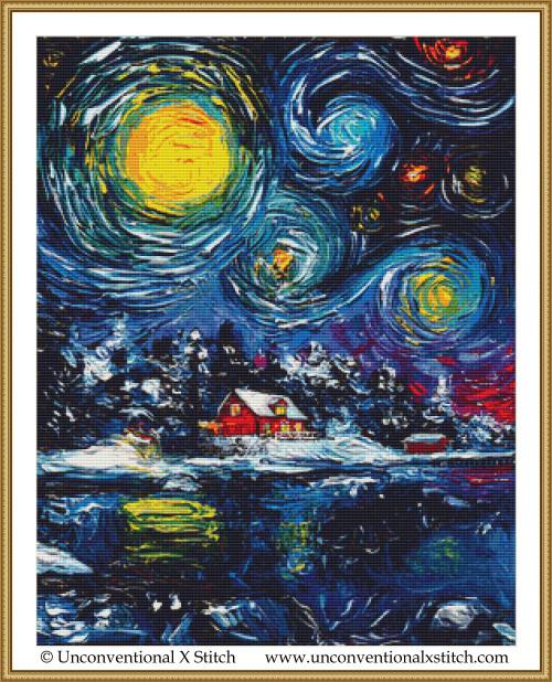 Winter Wonderland cross stitch pattern