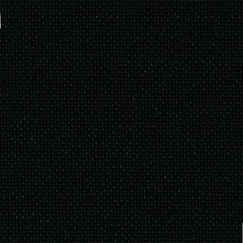 25 count Black Lugana 100 x 140cm
