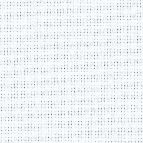 White 18 count aida 100x110cm