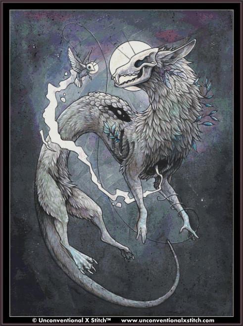 Kindred Souls cross stitch pattern (XL edition)