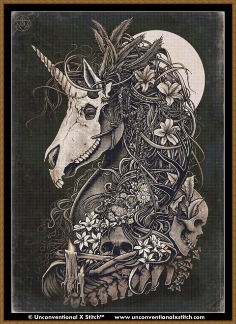 Masquerade cross stitch pattern (Max edition)