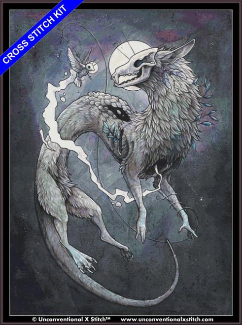 Kindred Souls (XL Edition) cross stitch kit