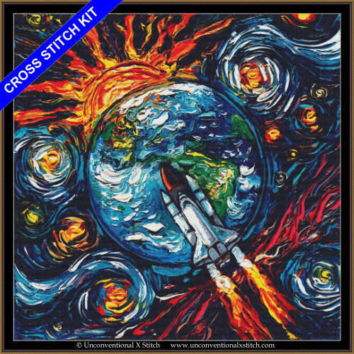 Beyond the Horizon (XL Edition) cross stitch kit