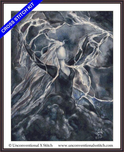 Storm Goddess cross stitch kit