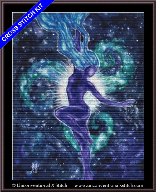Star Goddess cross stitch kit