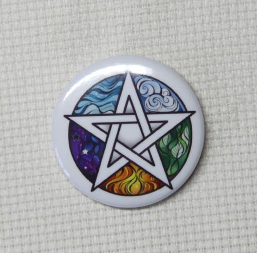 Elemental Pentagram needle minder