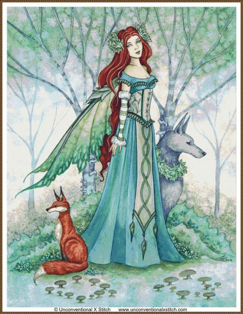 Woodland Guardians cross stitch pattern (Max Edition)