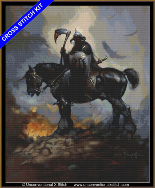 Death Dealer (extract edition) cross stitch kit